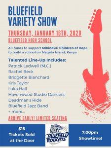 Bluefield High School Variety Show @ Bluefield High School