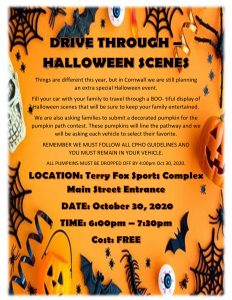 Halloween Drive Through Event @ Terry Fox Sports Complex