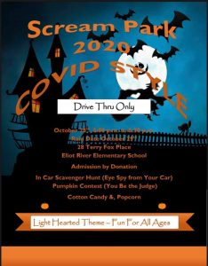 Scream Park - Drive Thru Event @ Eliot River School